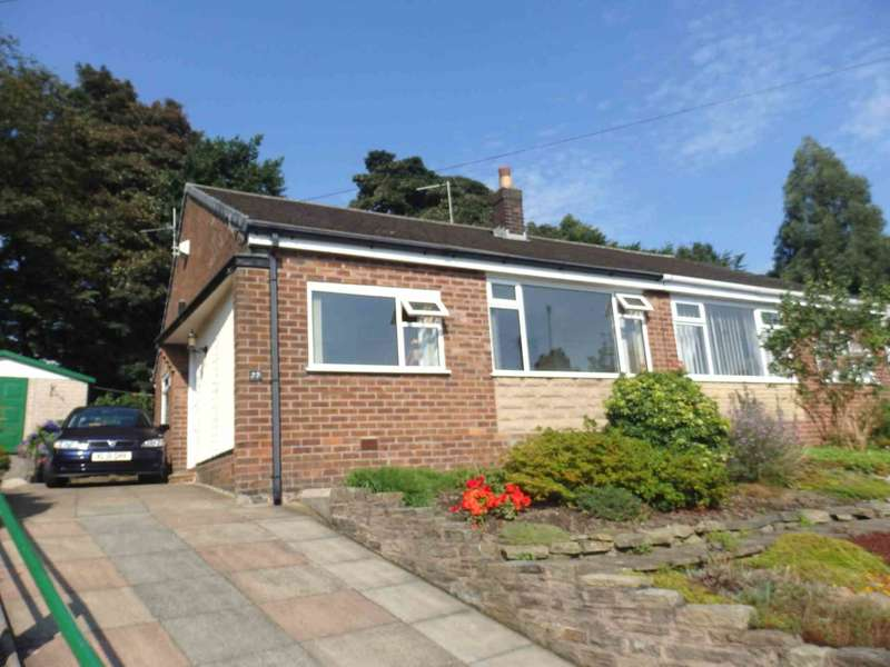 2 Bedrooms Semi Detached Bungalow for sale in Hazelwood Road, Smithills