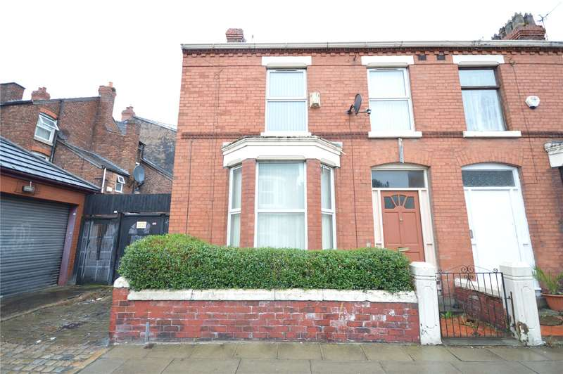 3 Bedrooms End Of Terrace House for sale in Crawford Avenue, Mossley Hill, Liverpool, L18