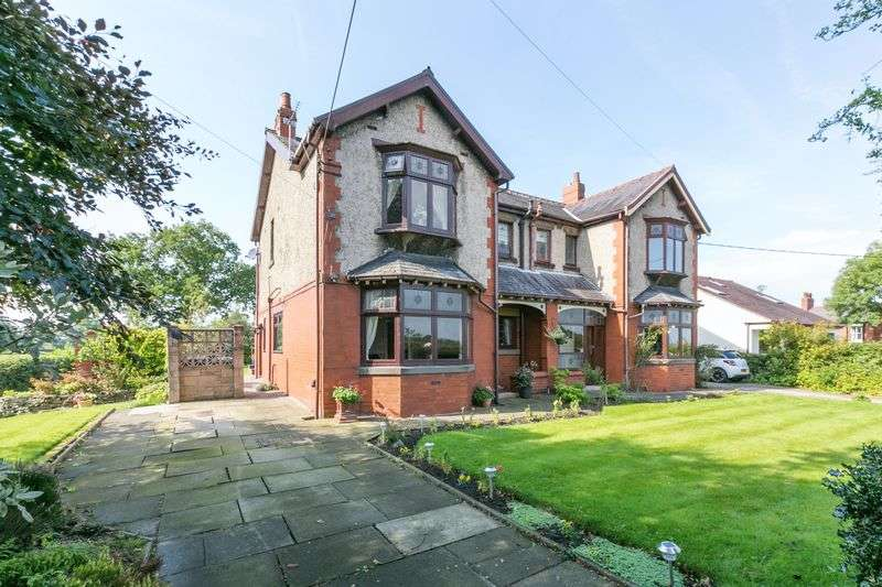 3 Bedrooms Semi Detached House for sale in Wood Lane, Heskin, PR7 5NS