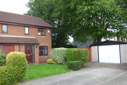 3 Bedrooms Semi Detached House for sale in Fleetwood Close, Great Sankey, Warrington, Cheshire