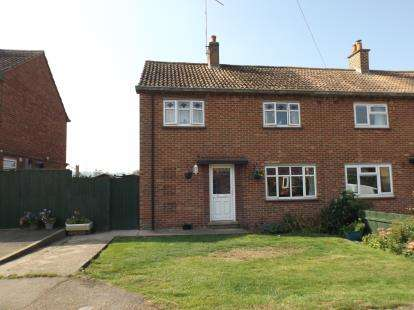 3 Bedrooms Semi Detached House for sale in Church Close, Braybrooke, Market Harborough, Northamptonshire