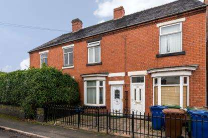 3 Bedrooms Terraced House for sale in St. Johns Road, Cannock, Staffordshire, -
