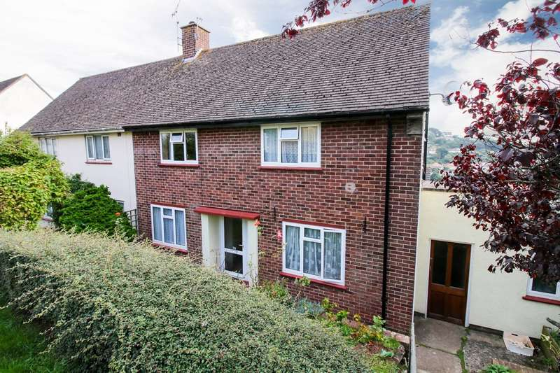 3 Bedrooms Semi Detached House for sale in Cartwright Crescent, Teignmouth