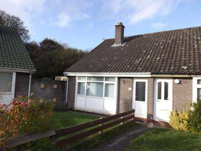 2 Bedrooms Semi Detached House for sale in Bryn Stanley, Denbigh, Denbighshire, LL16