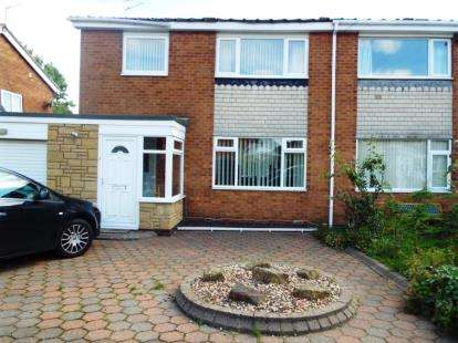 3 Bedrooms Semi Detached House for sale in Simon Place, Wideopen, Newcastle Upon Tyne, Tyne and Wear, NE13