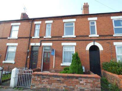 2 Bedrooms Terraced House for sale in Watery Road, Wrexham, Wrecsam, LL13