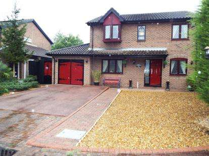 4 Bedrooms Detached House for sale in Riverside Mead, Stanground, Peterborough, Cambridgeshire