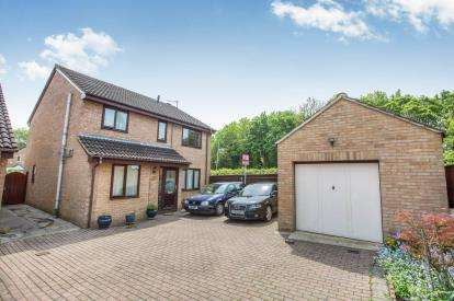 4 Bedrooms Detached House for sale in Lineacre Close, Grange Park, Swindon, Wiltshire