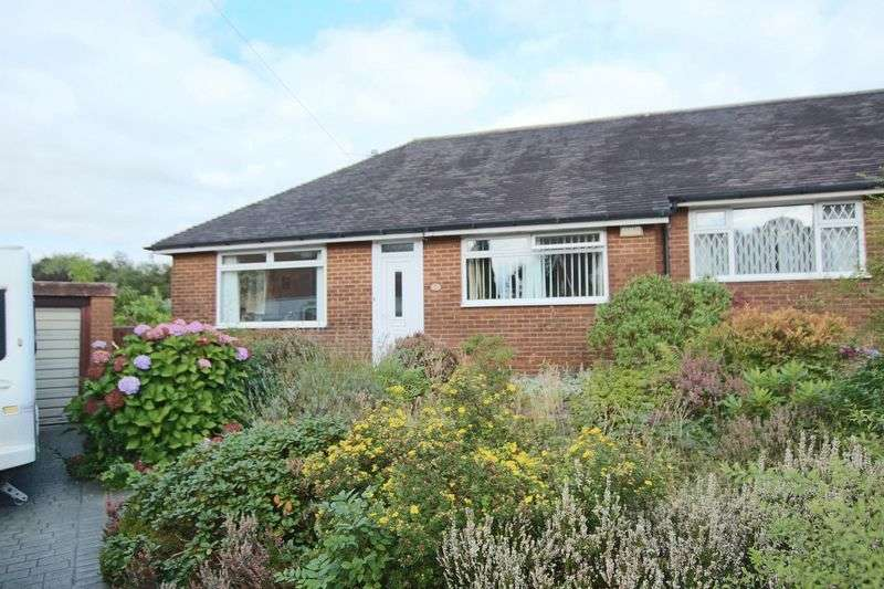 2 Bedrooms Semi Detached Bungalow for sale in Yealand Close, Bamford, Rochdale OL11 4DL
