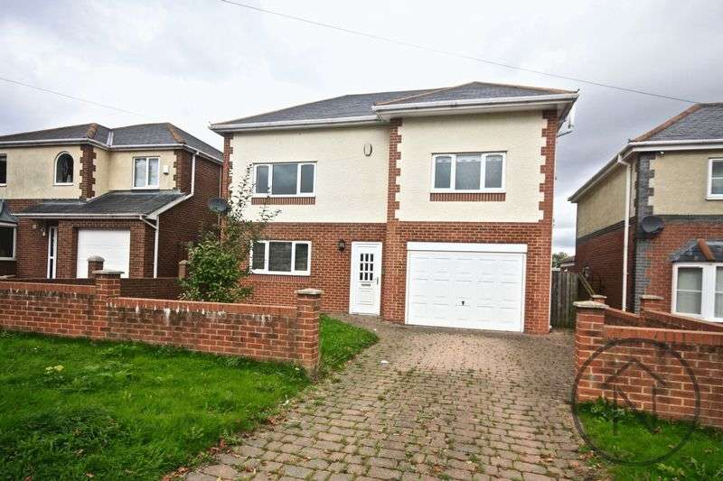 4 Bedrooms Detached House for sale in Highland Gardens, Shildon