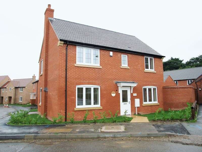 4 Bedrooms Detached House for sale in Highland Drive, Loughborough