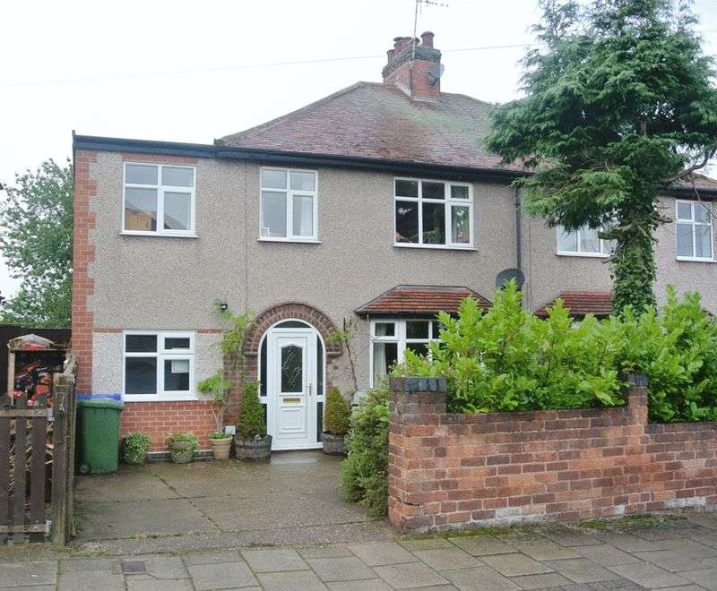 5 Bedrooms Semi Detached House for sale in Carisbrooke Avenue, Mansfield