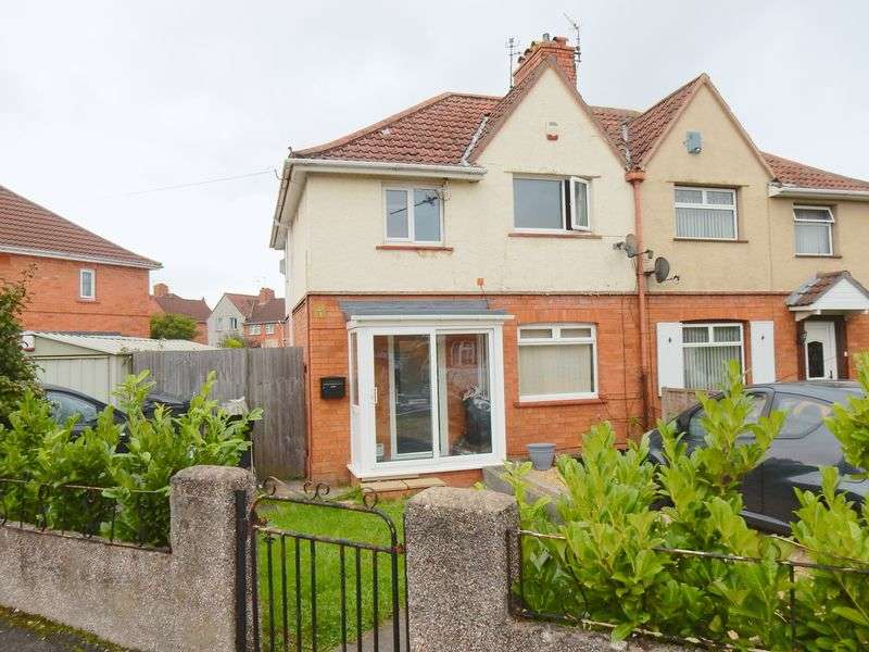 3 Bedrooms Semi Detached House for sale in Exmouth Road, Knowle, Bristol