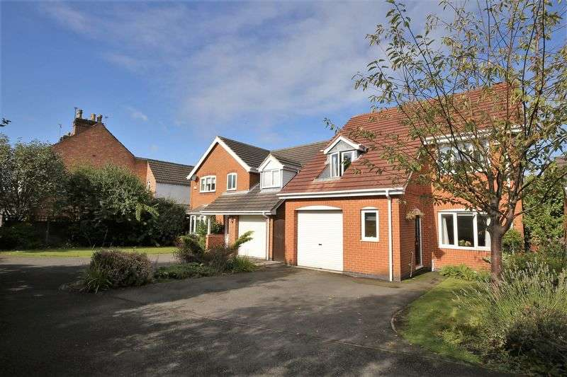 4 Bedrooms Detached House for sale in Harvest Grove, Moira, Derbyshire DE12 6EH