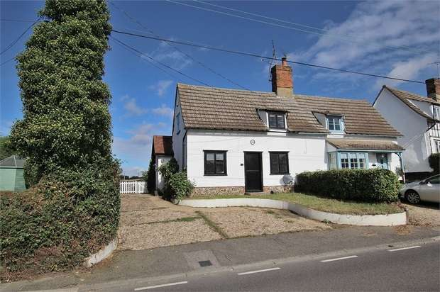 2 Bedrooms Semi Detached House for sale in Little Sampford, Saffron Walden, Essex