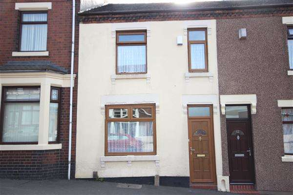 2 Bedrooms Terraced House for sale in Birches Head Road, Birches Head, Stoke-on-Trent