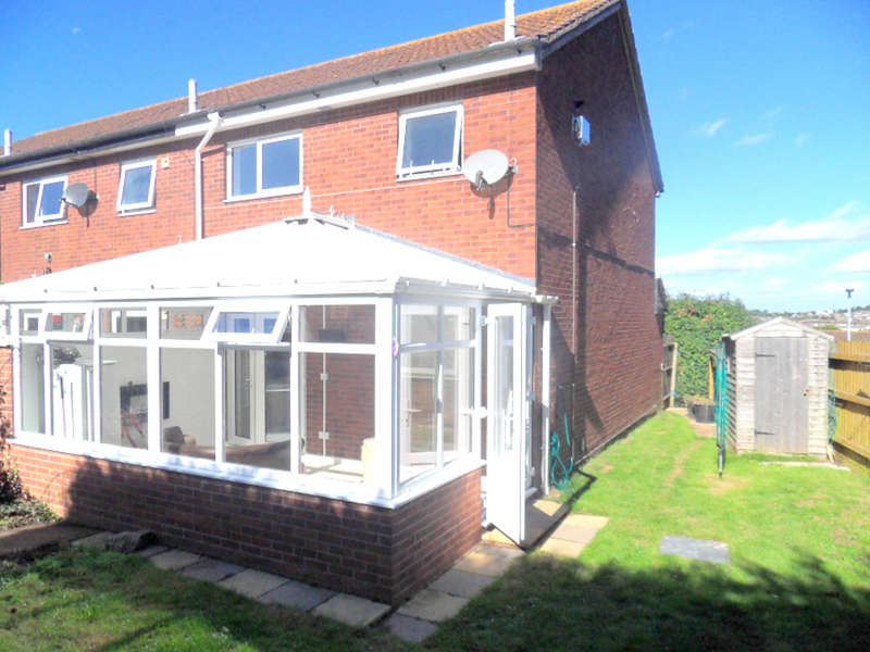 3 Bedrooms End Of Terrace House for sale in Sadler Close, Exmouth