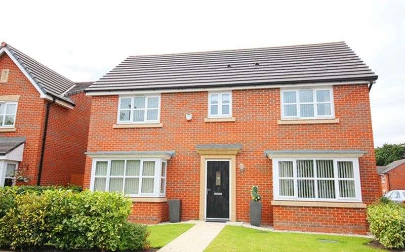4 Bedrooms Detached House for sale in Earle Avenue, Roby, Liverpool, L36