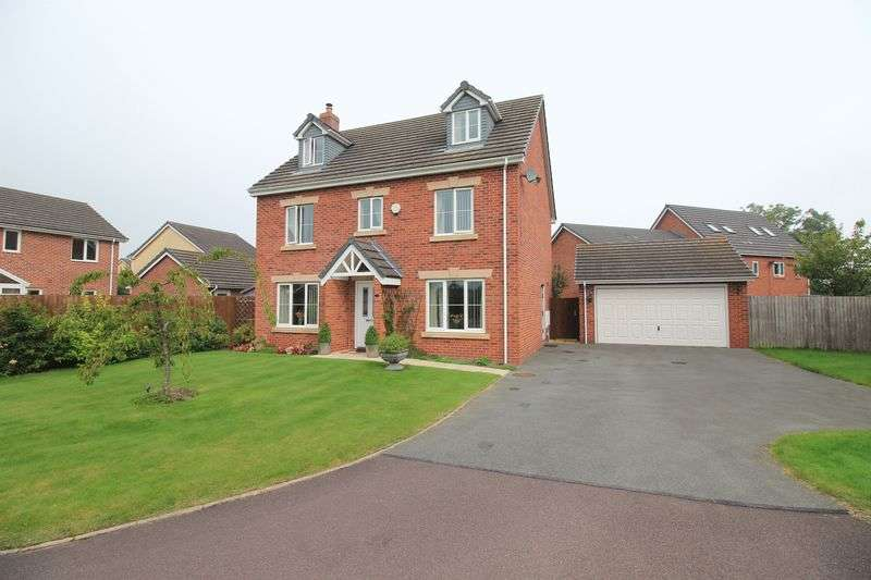 5 Bedrooms Detached House for sale in Parc Hafod, Llanymynech