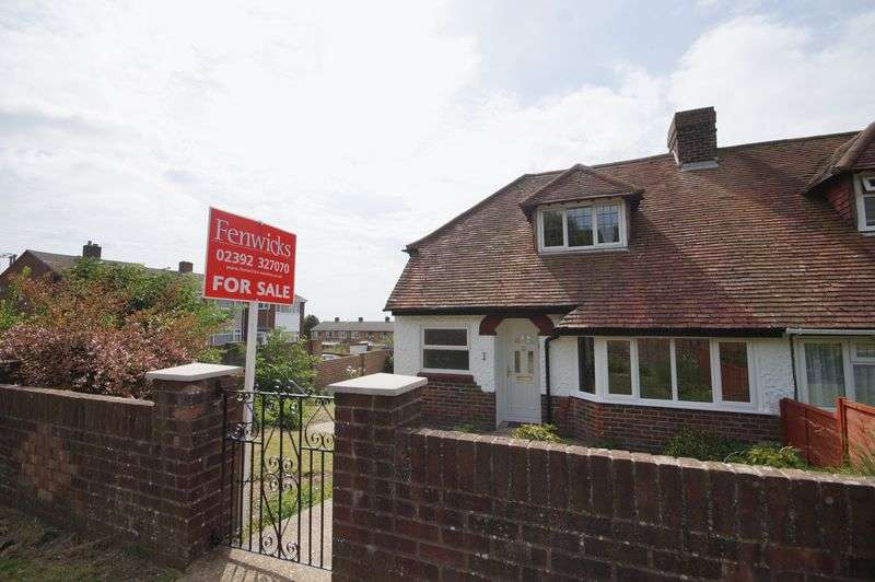 3 Bedrooms Semi Detached House for sale in Anson Grove, Portchester, Fareham, PO16
