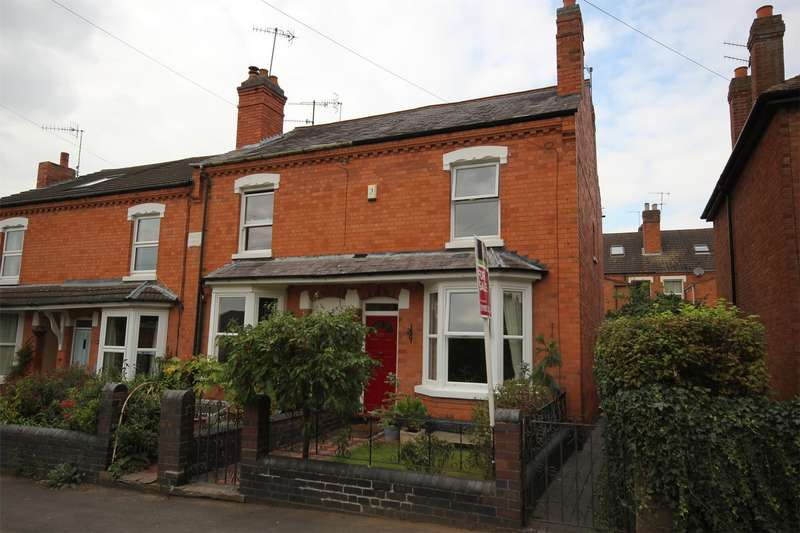 2 Bedrooms End Of Terrace House for sale in Selborne Road West, Barbourne, Worcester