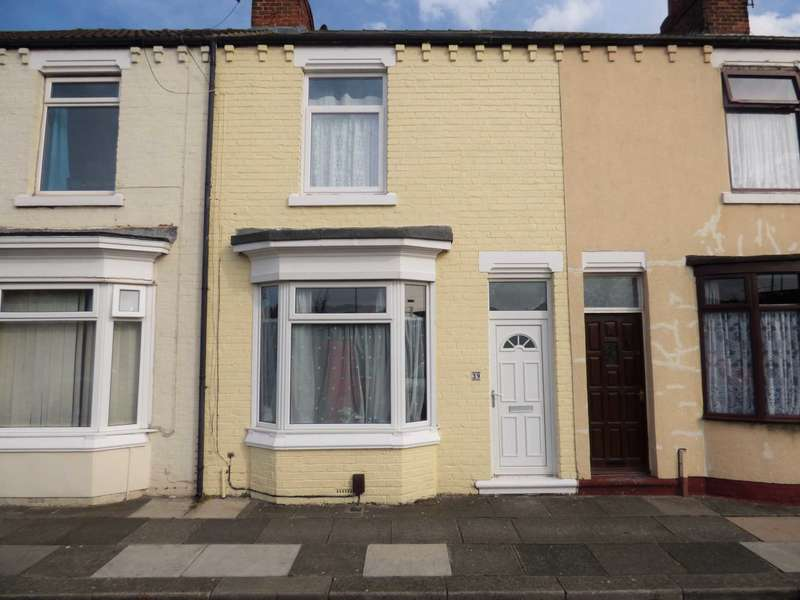 2 Bedrooms Terraced House for sale in Hanson Street, Redcar