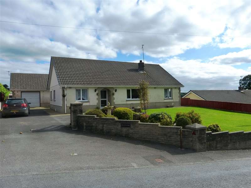 3 Bedrooms Detached Bungalow for sale in Maesyfro, Llanboidy, Whitland, Carmarthenshire
