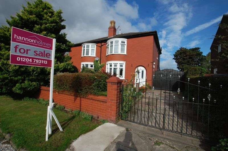 2 Bedrooms Semi Detached House for sale in Boscow Road, Bolton