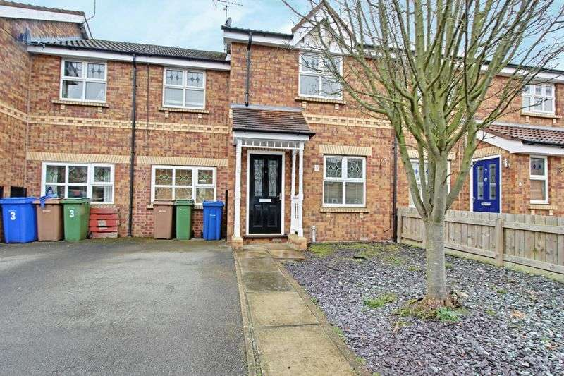 3 Bedrooms Terraced House for sale in Ropery Close, Beverley