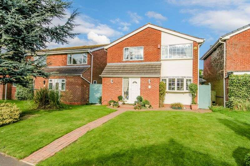 4 Bedrooms Detached House for sale in Greenway, Aldridge, Walsall