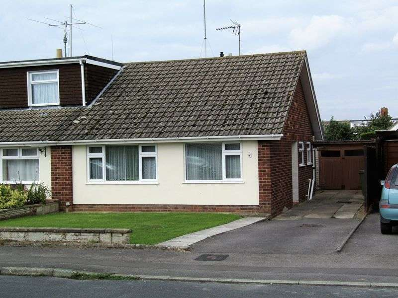2 Bedrooms Semi Detached Bungalow for sale in Hardy Road, Cheltenham