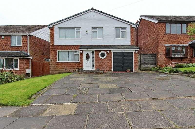 4 Bedrooms Detached House for sale in Millom Drive, Unsworth, Bury