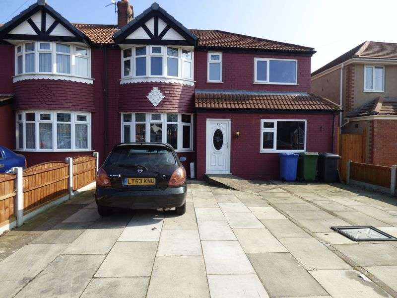 4 Bedrooms Semi Detached House for sale in Malpas Drive, Gt Sankey