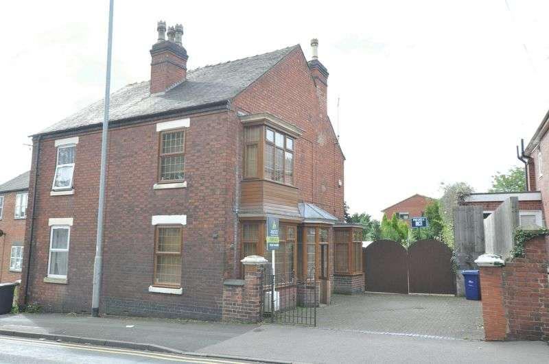 3 Bedrooms Semi Detached House for sale in Horninglow Road North, Burton-On-Trent