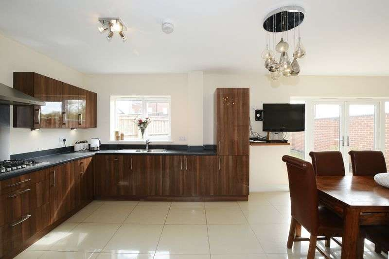 4 Bedrooms Detached House for sale in Spruce Drive, Ravenstone, Leicestershire LE67 3NT