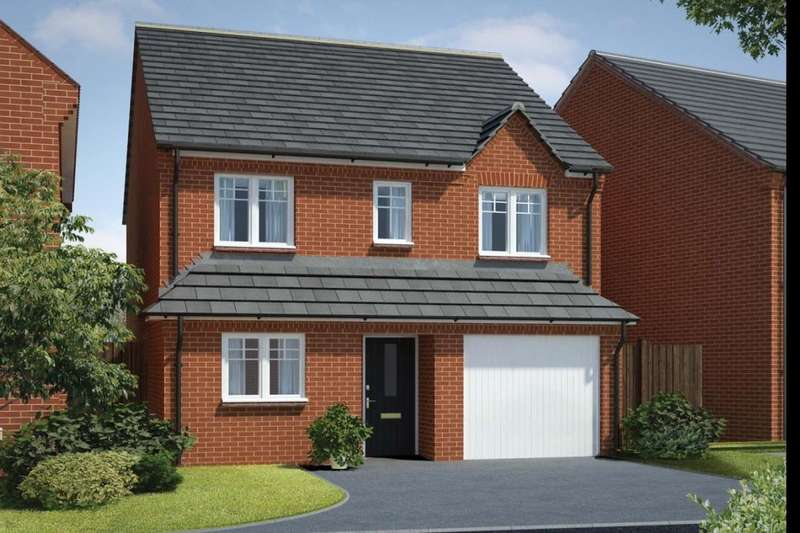 3 Bedrooms Detached House for sale in The Gloucester Royal Park The Long Shoot, Nuneaton, CV11