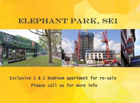 2 Bedrooms Flat for sale in West grove, Highwood Garden Terrace North block, Elephant & Castle