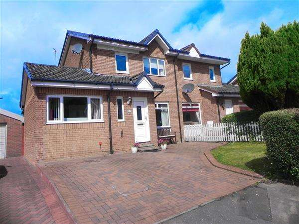 4 Bedrooms Semi Detached House for sale in Saughs Gate, G33