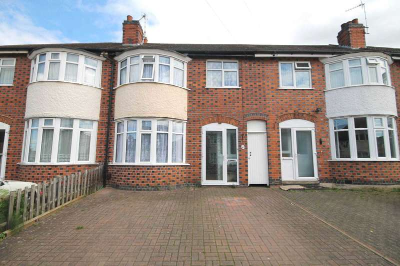 3 Bedrooms Terraced House for sale in Lymington Road, off Scraptoft Lane Leicester