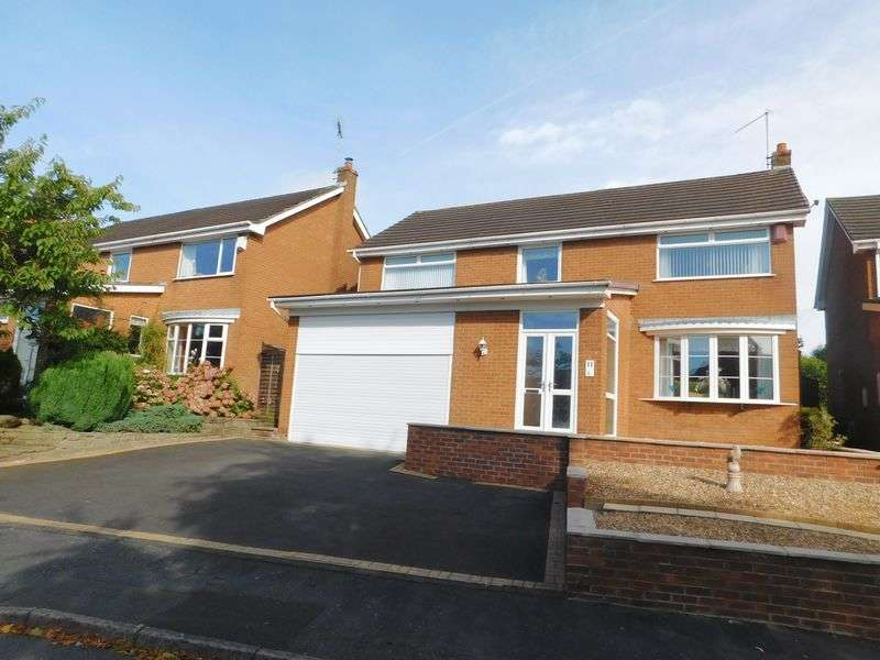 4 Bedrooms Detached House for sale in Suffolk Close, Congleton