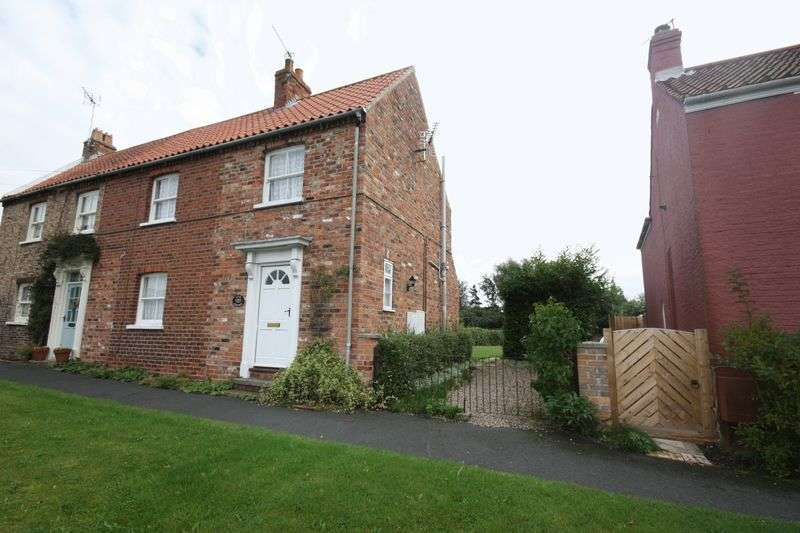 3 Bedrooms Semi Detached House for sale in Chapel Street, Barmby Moor