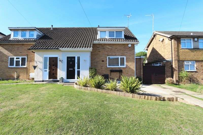 2 Bedrooms Semi Detached House for sale in 2 bedroom semi-detached house for sale, Lechmere Avenue, Chigwell, Essex, IG7