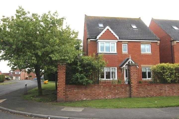 5 Bedrooms Detached House for sale in Sherbourne Villas, Stakeford Lane, Ashington
