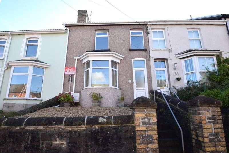 3 Bedrooms Terraced House for sale in 57 Bridgend Road, Llanharan, Pontyclun, Rhondda Cynon Taff, CF72 9RA.