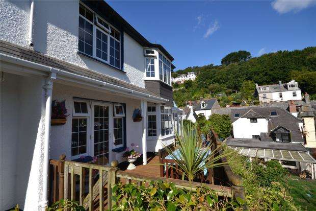 3 Bedrooms Semi Detached House for sale in Bartonside, West Looe Hill, West Looe, Cornwall