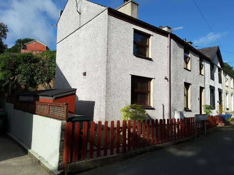 2 Bedrooms End Of Terrace House for sale in Cambrian Terrace, Llanberis, Gwynedd, LL55