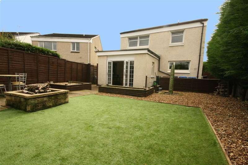 4 Bedrooms Detached House for sale in Broomhill Avenue, South Broomage, Larbert