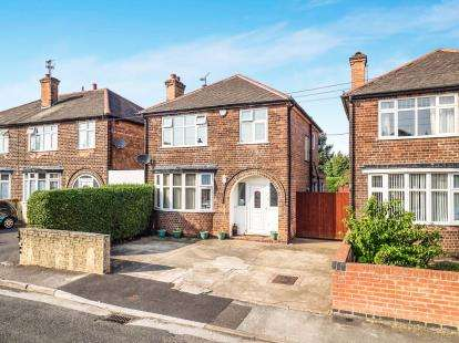 3 Bedrooms Detached House for sale in Franklyn Gardens, Aspley, Nottingham, Nottinghamshire