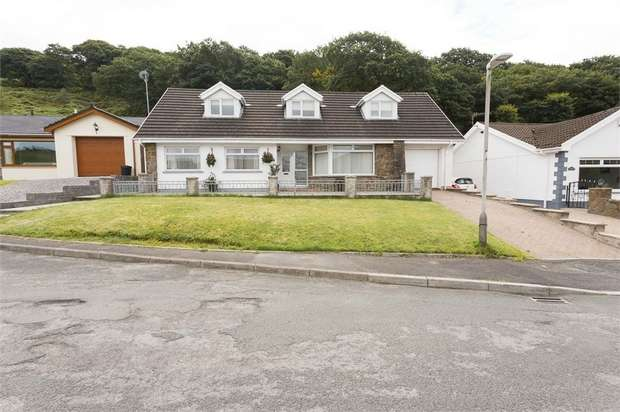 5 Bedrooms Detached Bungalow for sale in Danycoed, Blackmill, Bridgend, Mid Glamorgan
