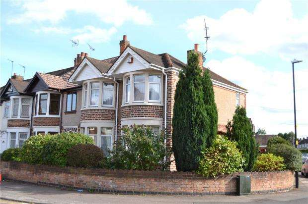 4 Bedrooms End Of Terrace House for sale in Torcross Avenue, Wyken, Coventry, West Midlands